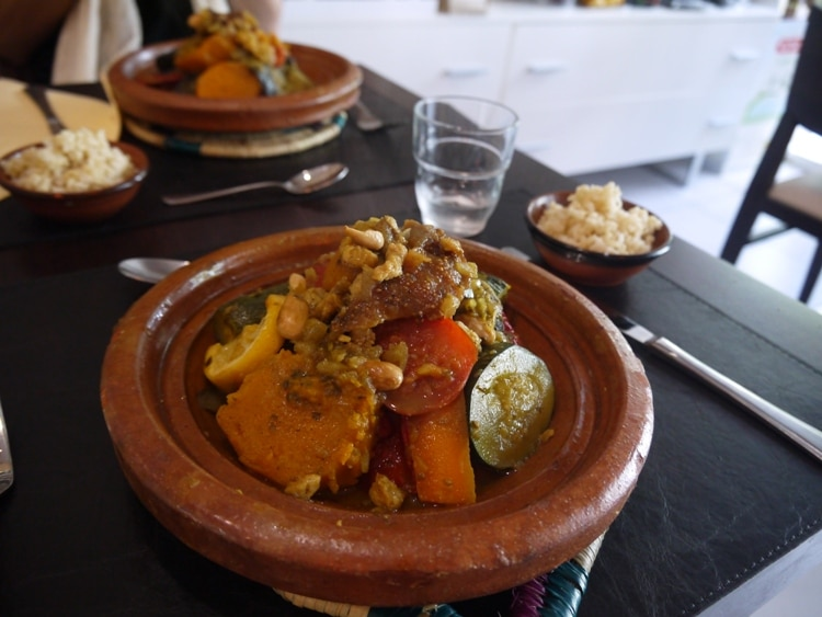 Moroccan Tagine At Argane Bio, Nice, France