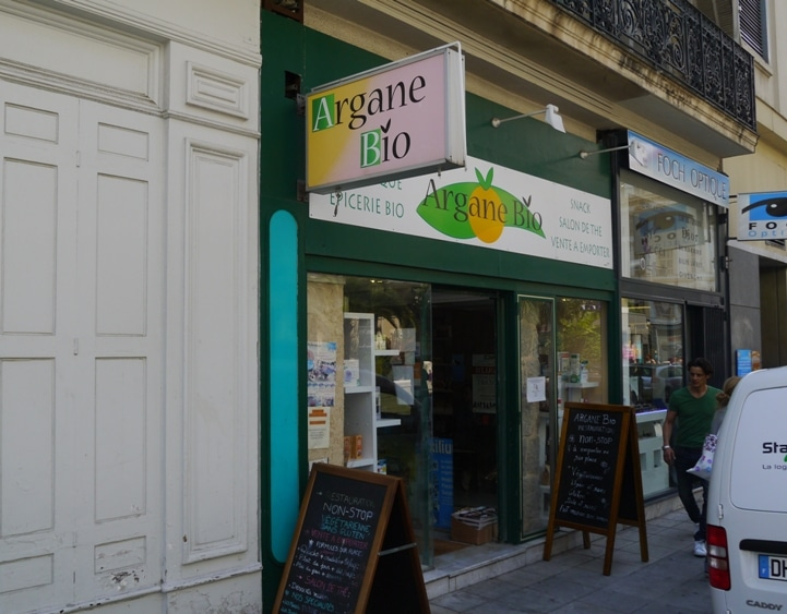 Argane Bio, Health Food Store & Vegetarian Restaurant, Nice, France