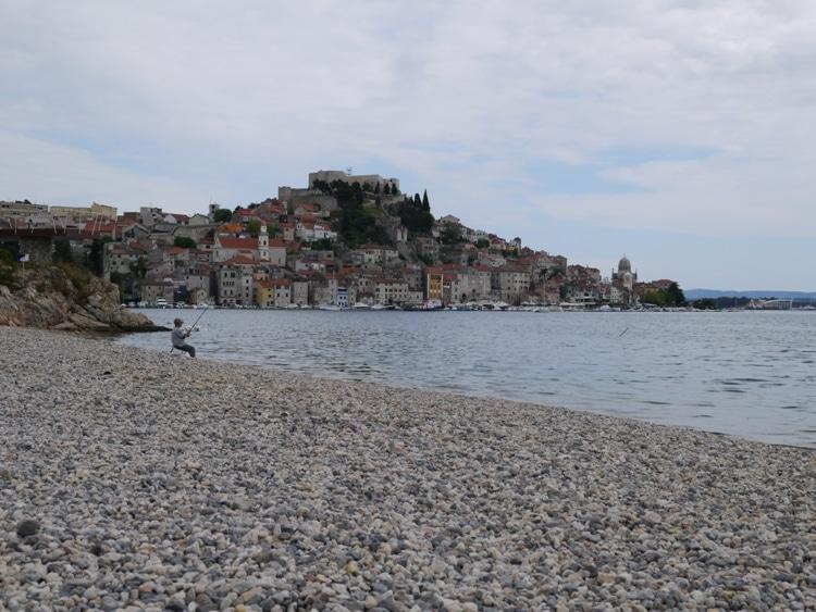 Banj Beach, Sibenik, Croatia