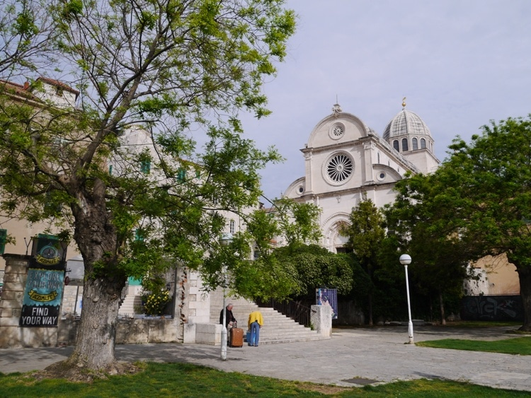 The Cathedral Of St James In Sibenik - A UNESCO World Heritage Site