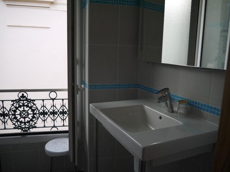 Bathroom At Hotel Star, Nice, France