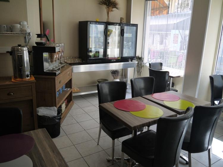 Breakfast Room At Hotel Star, Nice, France