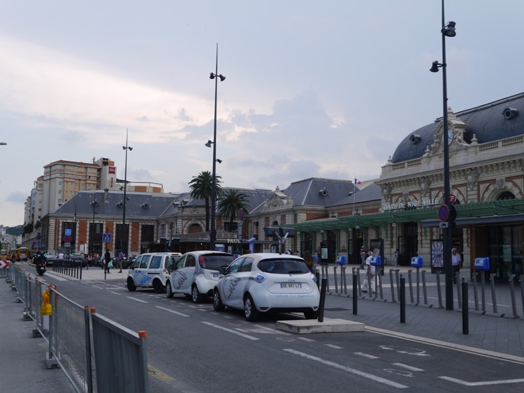 Train Station & Ibis Nice Centre Gare, Nice, France