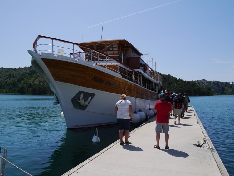 Boat To Skradinski Buk, Krka National Park