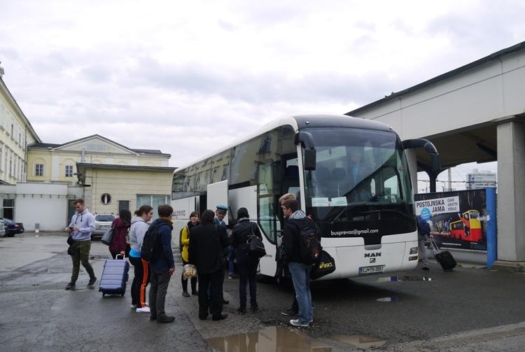 Replacement Bus Service From Ljubljana To Sezana