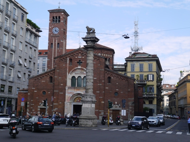 Church Of Saint Babila, Milan