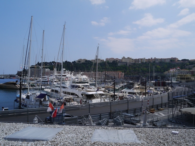 Yachts At Port Hercules, Monaco