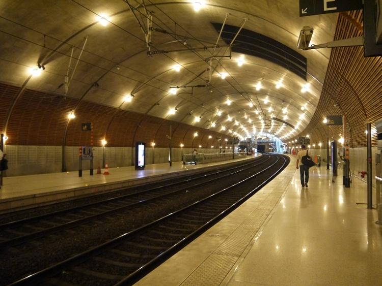 Monaco Monte Carlo Train Station Monaco Monte-carlo Train