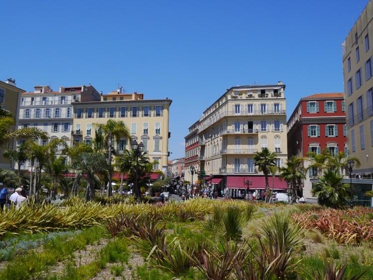 Esplanade Georges Pompidou, Nice, France