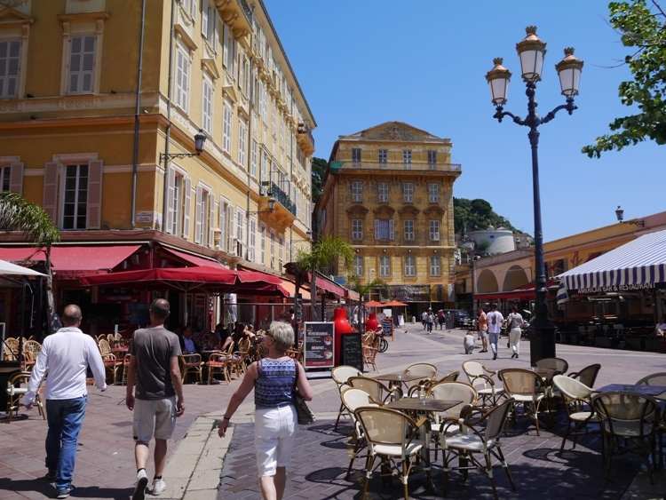 The Old Town, Nice, France
