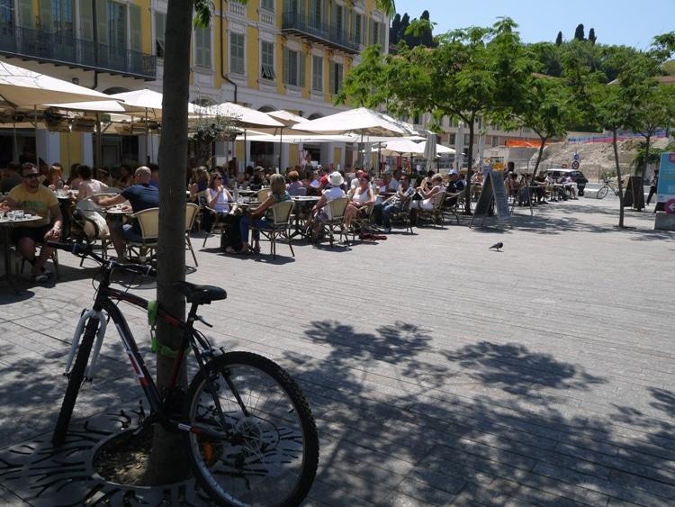 Outdoor Cafe, Place Garibaldi, Nice, France