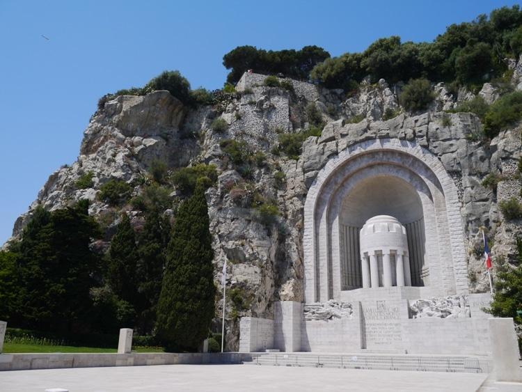 World War II Memorial At Castle Hill