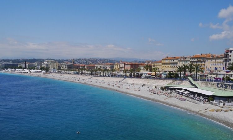 The Beach, Nice, France