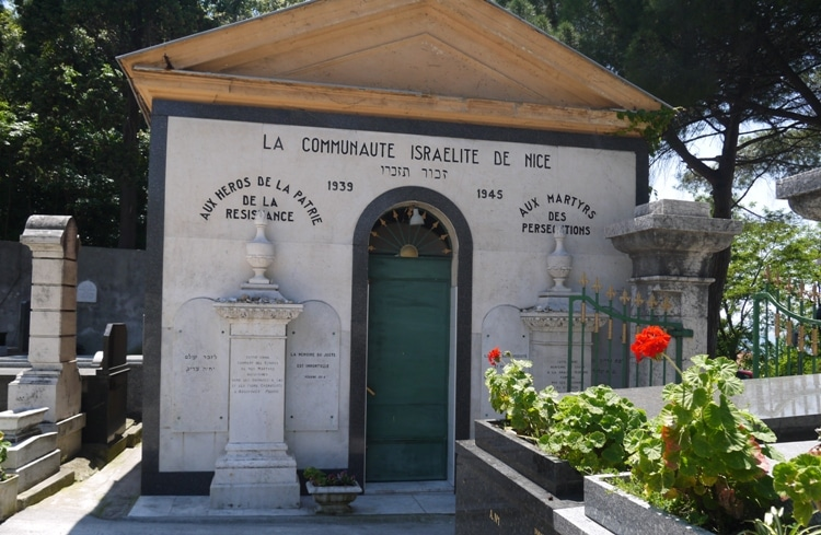 Israelite Cemetery (Cimetiere Israelite), Nice, France