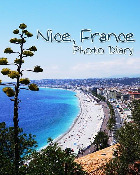 Nice, France Photo Diary