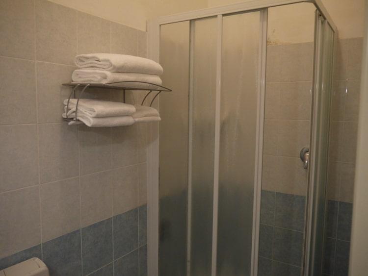 Shower At Nuovo Albergo Centro Hotel, Trieste, Italy