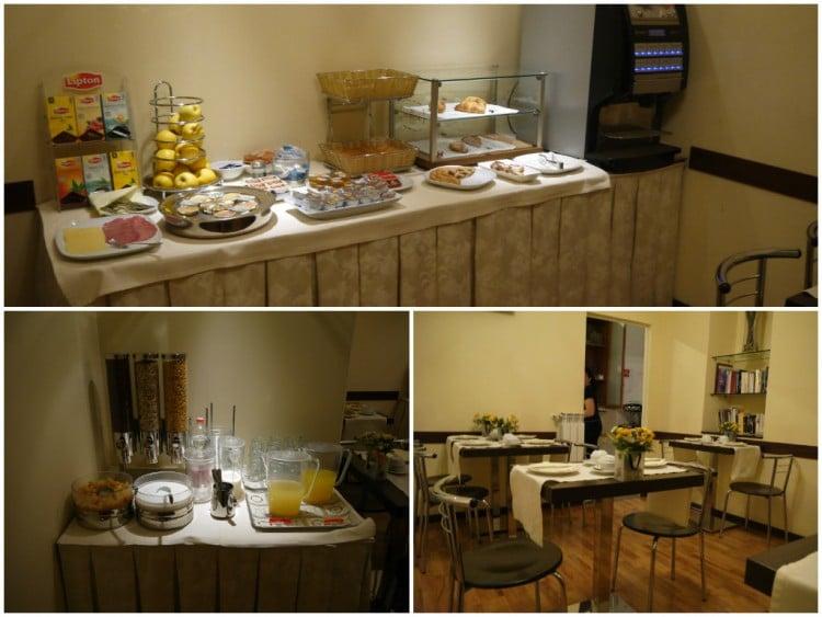 Breakfast At Nuovo Albergo Centro Hotel, Trieste, Italy