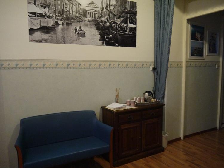 Hot Water & Tea At Nuovo Albergo Centro Hotel, Trieste, Italy