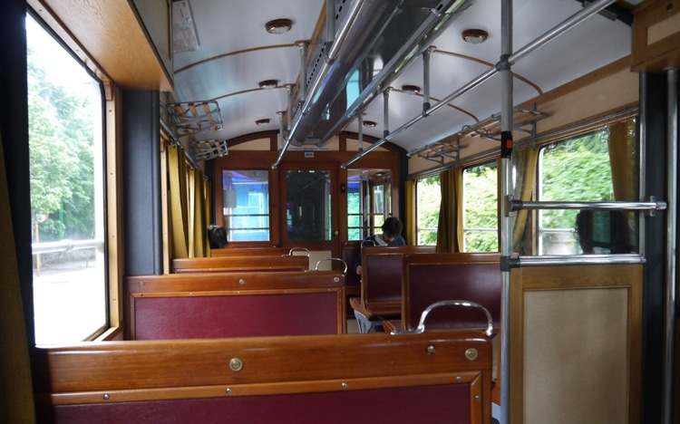 Inside The Trieste-Opicina Tram