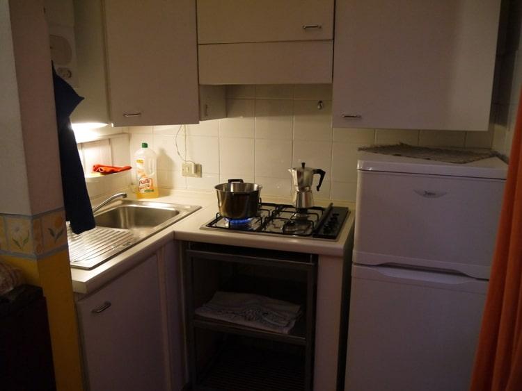 Kitchen At Porta Venezia House, Milan