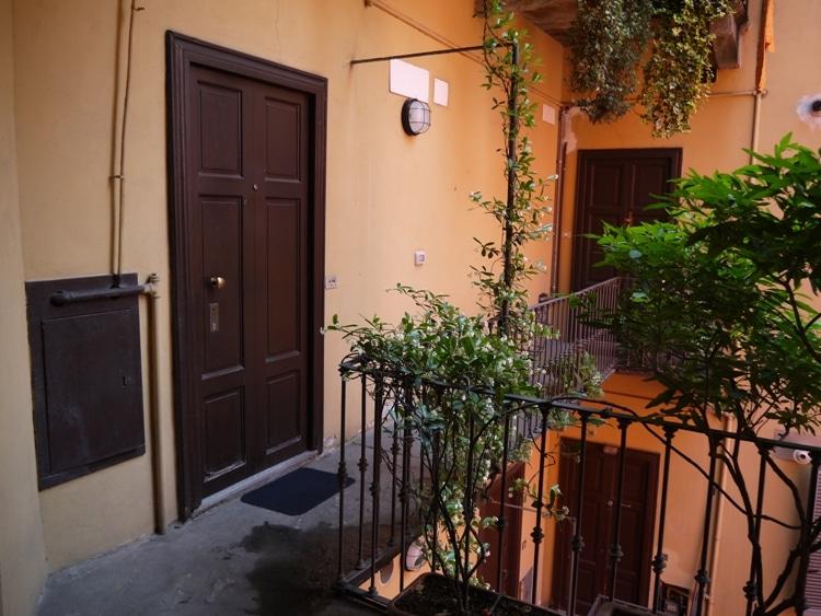 Entrance To Porta Venezia House, Via Lambro, Milan