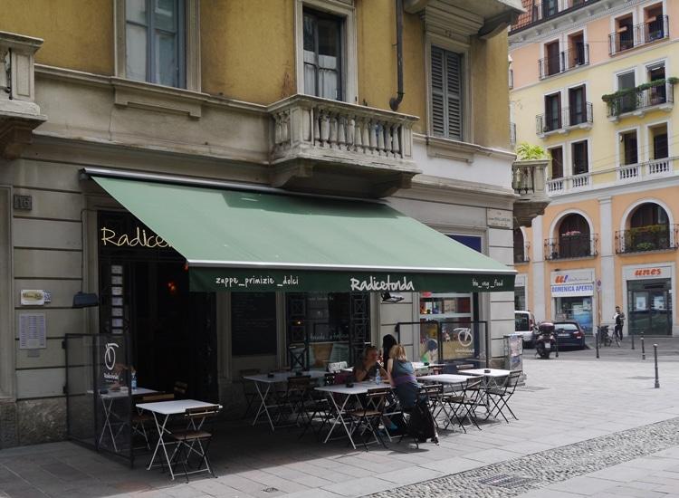Radicetonda Vegan Cafe, Via Spallanzani, Milan