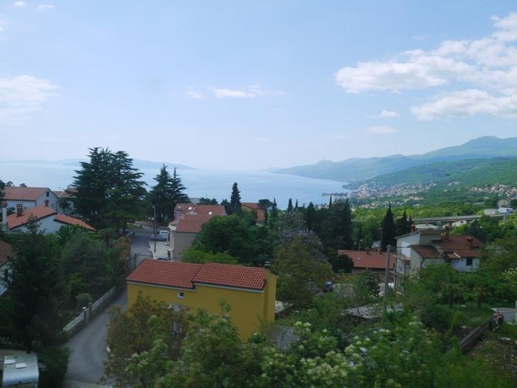 View From Rijeka To Ljubljana Train
