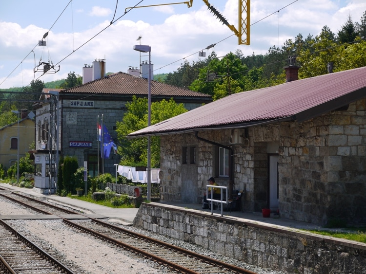 Sapjane Train Station, Croatia