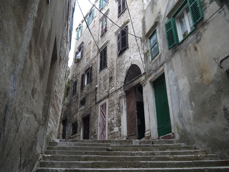 The Many Steps Of Sibenik