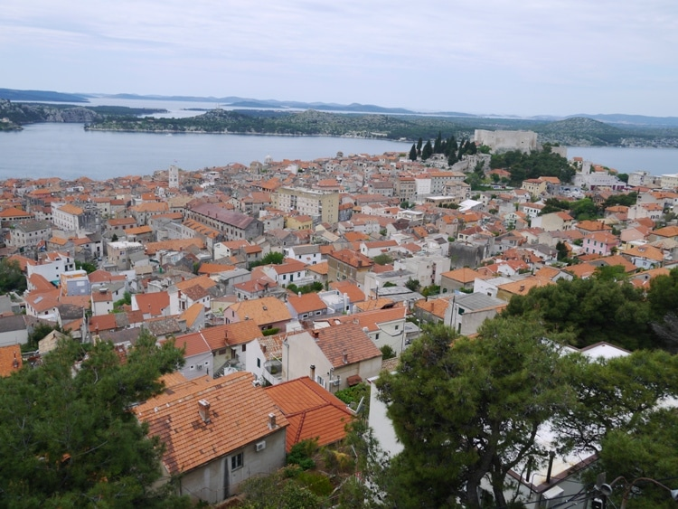 View Of Sibenik From Subicevac Fortress
