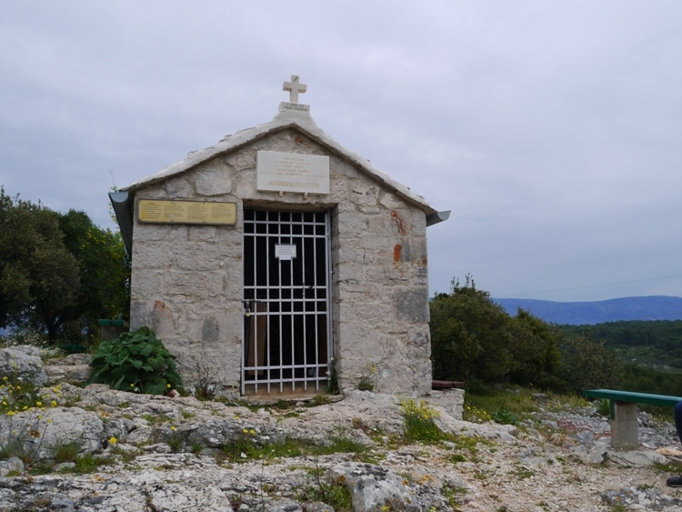 Church On Glavica Hill, Stari Grad
