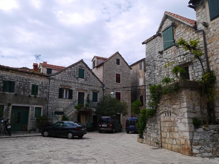 Trg Skor (Skor Square), Stari Grad, Hvar Island