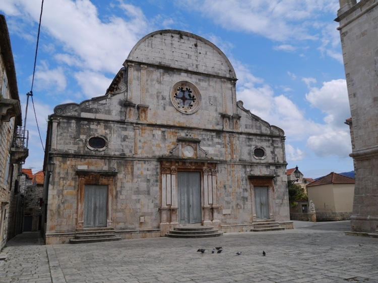 St. Stephen's Church, Stari Grad, Hvar