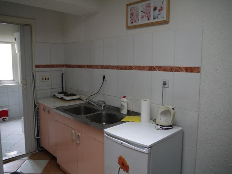 Kitchen At Sunshine Apartments, Zadar, Croatia