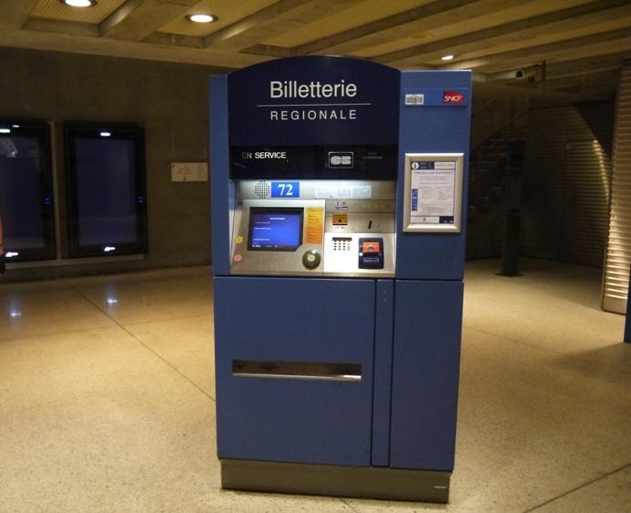 Ticket Machine At Monaco Monte-Carlo Station