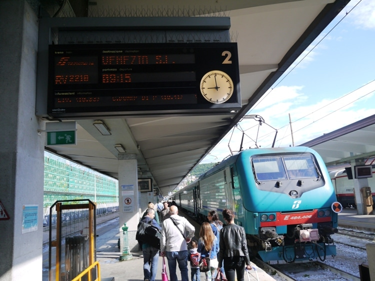 Trieste To Venice Train