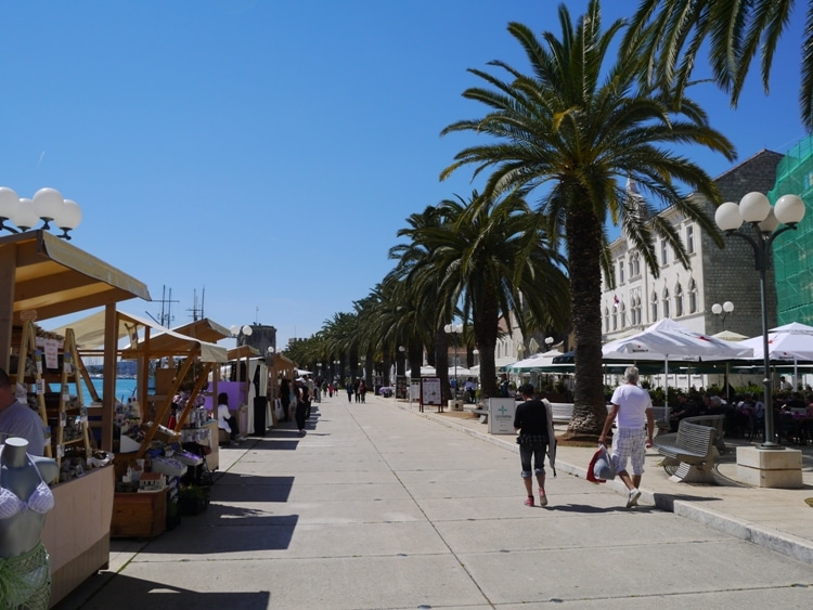 Promenade, Trogir