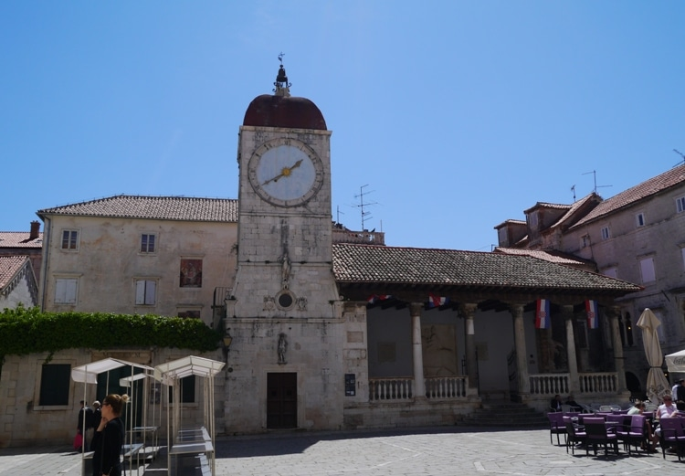 Loggia With Town Clock, Trogir