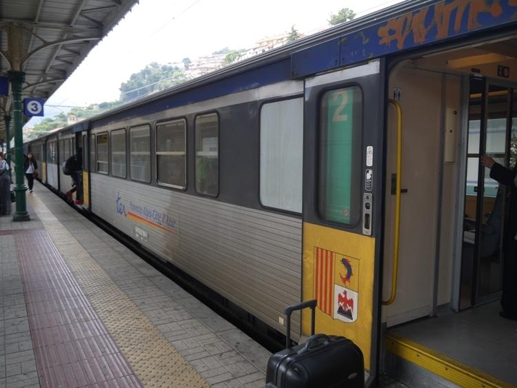 Ventimiglia To Nice Train