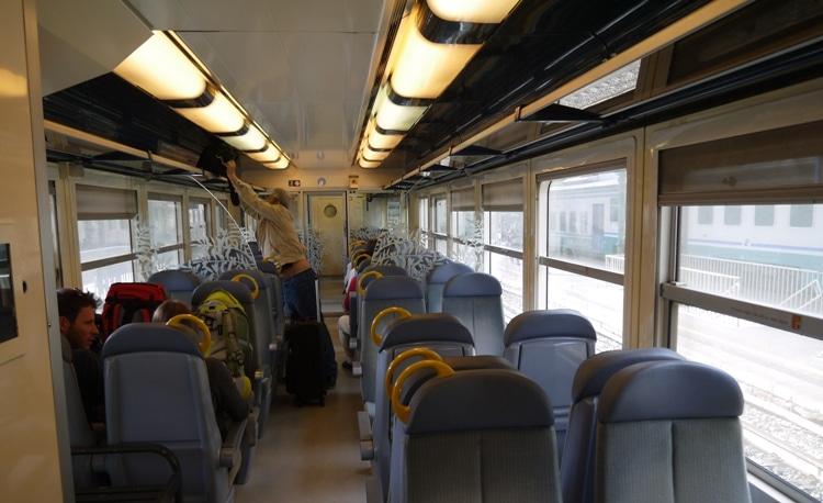 Ventimiglia To Nice Train - 2nd Class Carriage