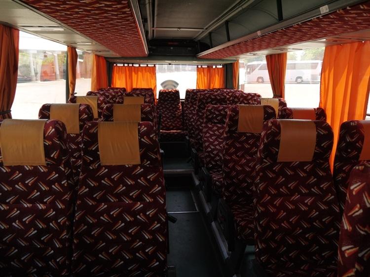 Cazmatrans Bus From Zadar To Rijeka