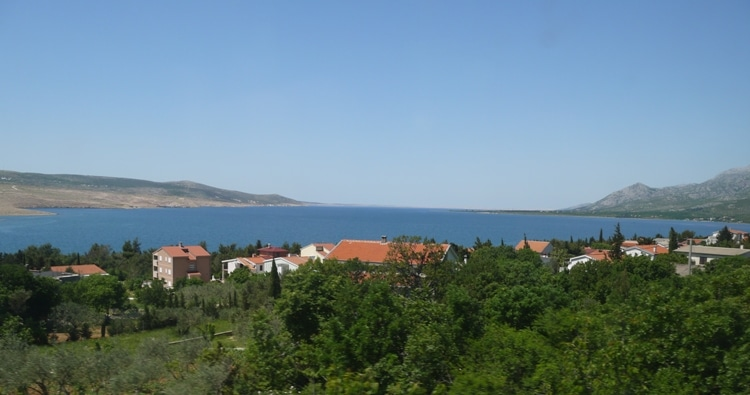 View From Our Zadar To Rijeka Bus