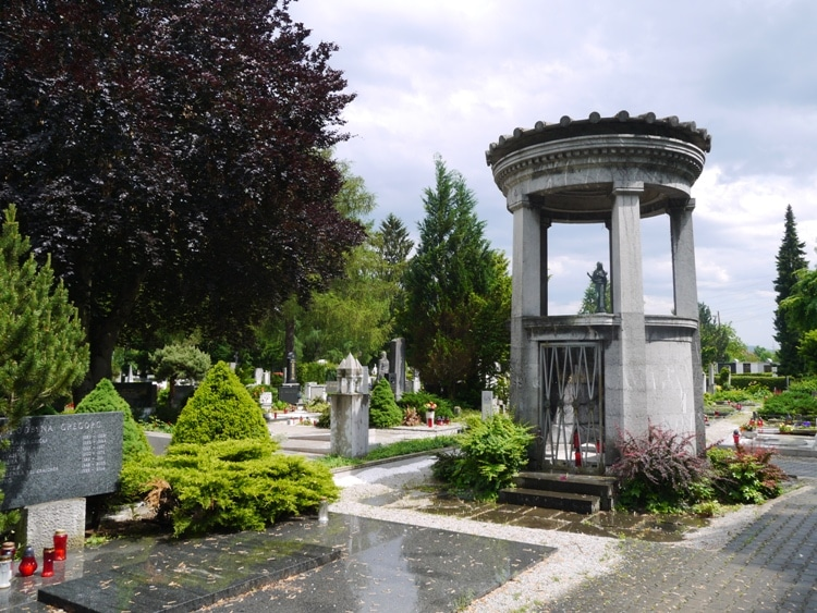 Žale Cemetery, Ljubljana, Slovenia