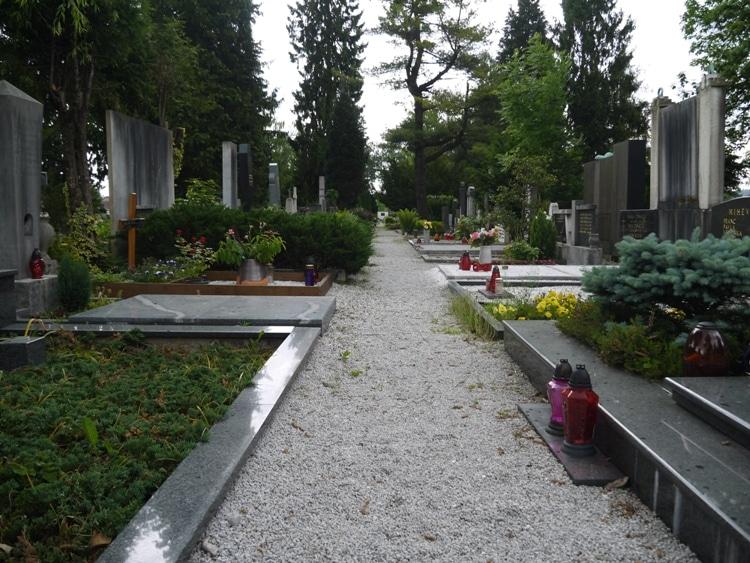 Žale Cemetery, Ljubljana, Slovenia - Section B