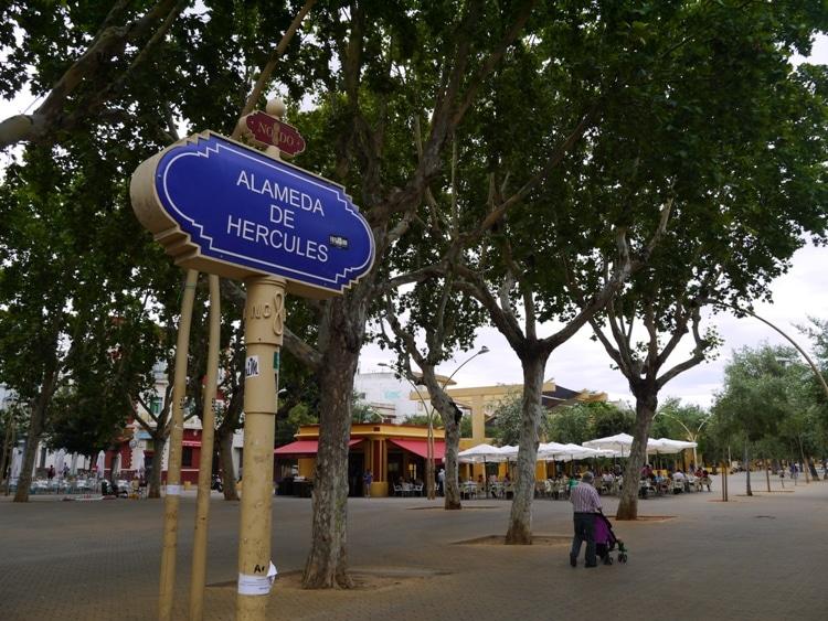Alameda De Hercules, Seville