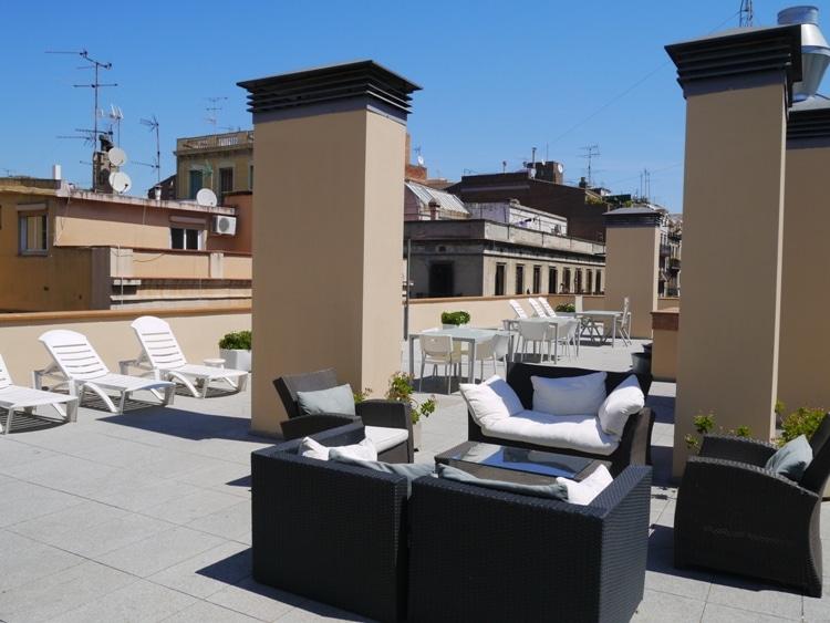 Roof Terrace At Verdi Gracia Apartment, Gracia, Barcelona