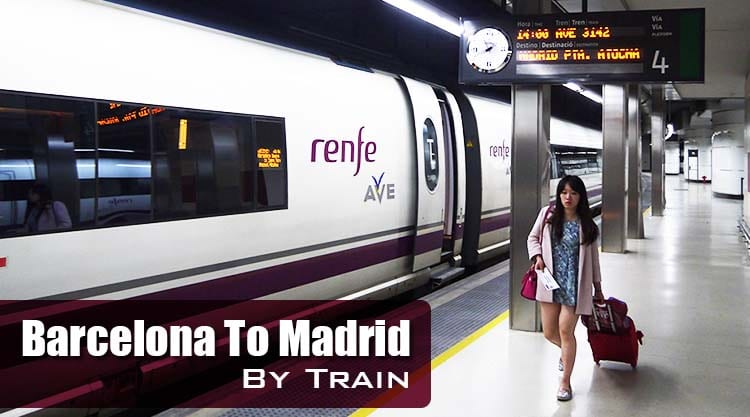 Getting From Barcelona To Madrid By Train Renegade Travels