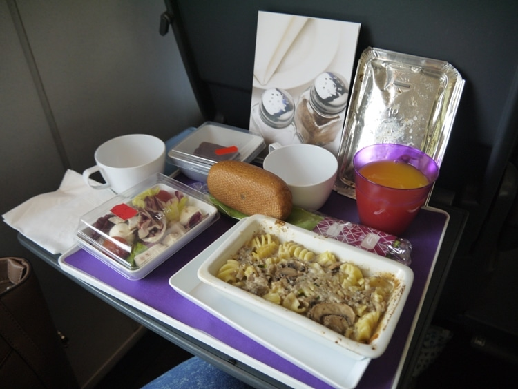 Lunch On Barcelona To Madrid Train