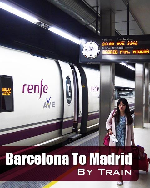 Barcelona To Madrid By Train