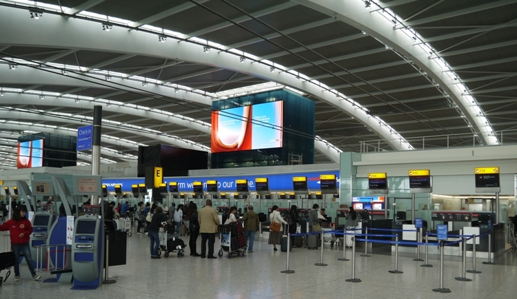 British Airways Heathrow Terminal 5 Check-In Desks